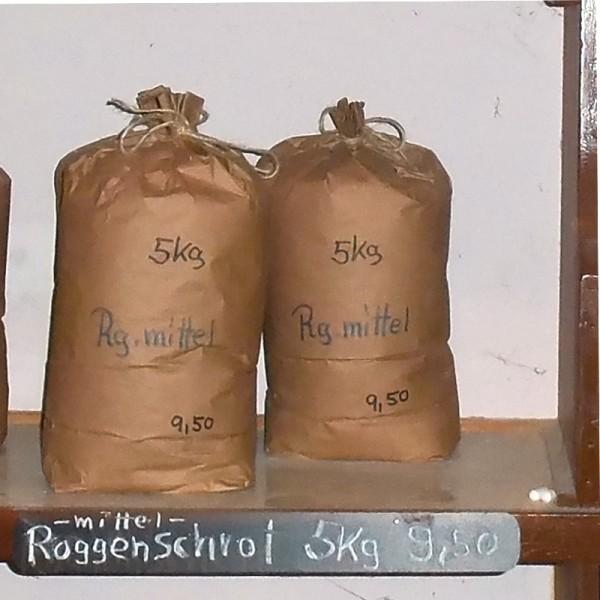 Roggenbackschrot mittelgrob